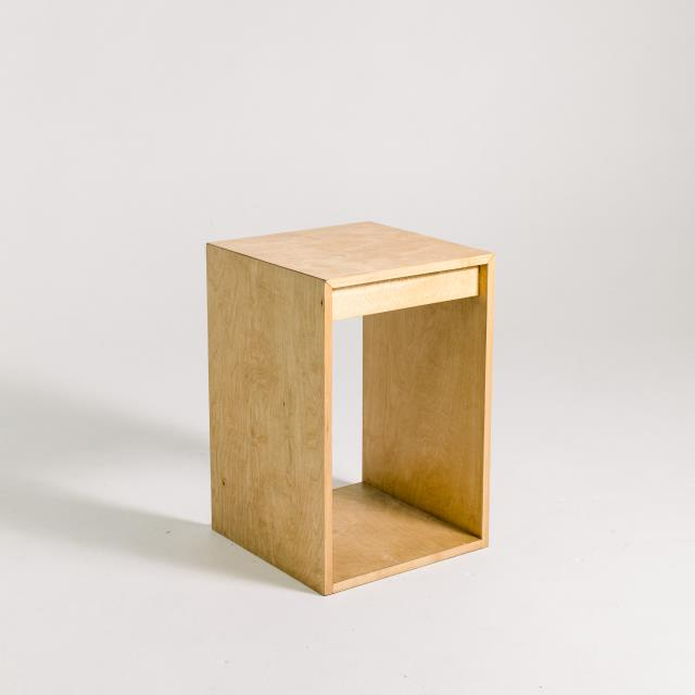 Where to find NATURAL WOOD SIDE TABLE in Orange County