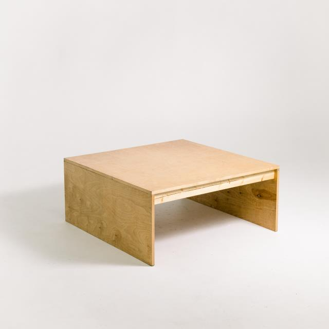 Where to find NATURAL WOOD COFFEE TABLE in Orange County