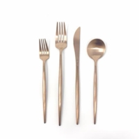 Rental store for ROSE GOLD FLATWARE in Orange County CA