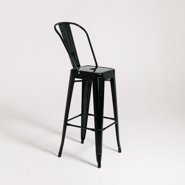 Where to find INDUSTRIAL BARSTOOL - BLACK in Orange County