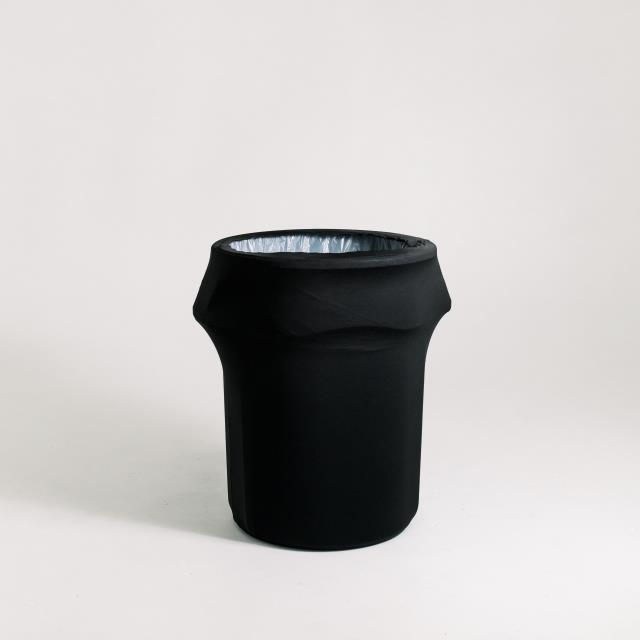 Where to find TRASH CAN COVER, BLACK SPANDEX in Orange County