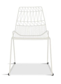 Rental store for WIRE METAL CHAIR, WHITE in Orange County CA