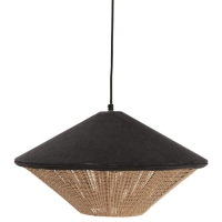 Rental store for VELVET RATTAN PENDANT LAMP, NAVY in Orange County CA