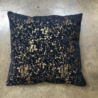 Rental store for PILLOW, NAVY   GOLD SPECKLED in Orange County CA