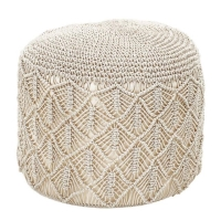Rental store for MACRAME POUF in Orange County CA