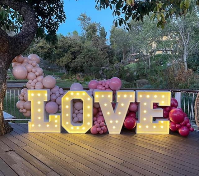 Where to find MARQUEE LIGHT  LOVE in Orange County