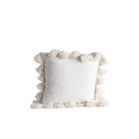 Rental store for TASSEL PILLOW, CREAM in Orange County CA