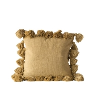 Rental store for TASSEL PILLOW, MUSTARD in Orange County CA