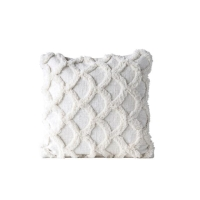 Rental store for CHENILLE SCALLOPED PILLOW, WHITE in Orange County CA