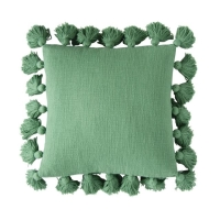 Rental store for TASSEL PILLOW, GREEN in Orange County CA