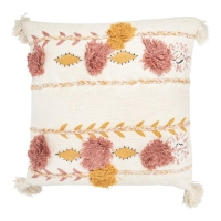 Rental store for CAMILLA EMBROIDERED PILLOW, CREAM in Orange County CA