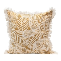 Rental store for PALM FROND PILLOW, MUSTARD in Orange County CA