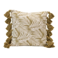 Rental store for PALM FROND PILLOW, GREEN in Orange County CA